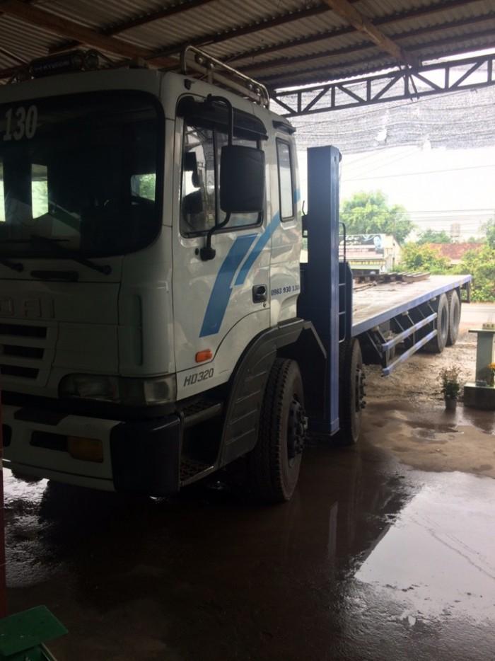 Xe tải cũ hyundai hd320 19 tấn