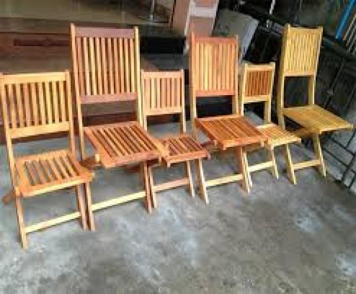 Bàn ghế gỗ quán nhậu giá rẻ4