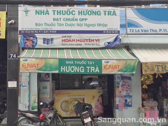 Cần Sang Nhà Thuốc Tây đạt chuẩn GPP tại Gò Vấp