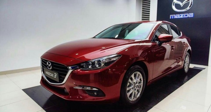 Mazda 3 Facelift 2018 Giá ưu đãi trong tháng 1