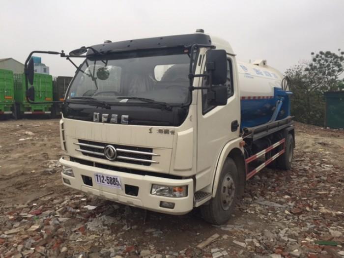 Xe hút chất thải DongFeng 6 khối nhập khẩu nguyên chiếc 2017 0