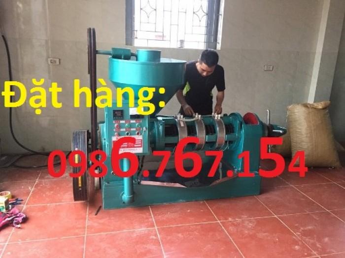 Máy ép dầu công nghiệp 6YL-130 (Công suất 300kg/h)1