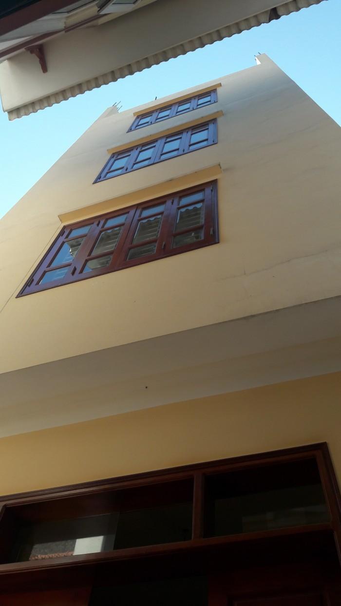 Bán nhà ngõ 40 ngọc trục, cách chợ Ngọc Trục 20m, ô tô đỗ cửa DT 34 m2 x 4 tầng, MT 3.3m