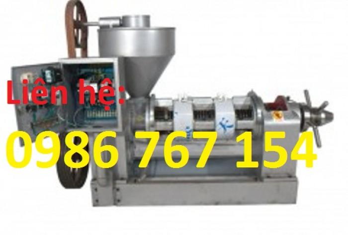 Máy ép dầu công nghiệp chính hãng Guangxin loại 80kg/h, 100kg/h, 200kg/h...1