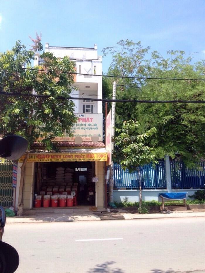 Nhà Huỳnh Thị Hai Q12, 80m2, 2 lầu, MT cho thuê 10tr/tháng