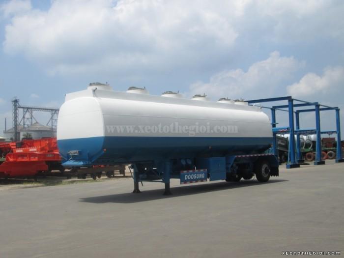 Bán Rơ Mooc chở xăng dầu chở xăng dầu DV-FSKS-40B-1