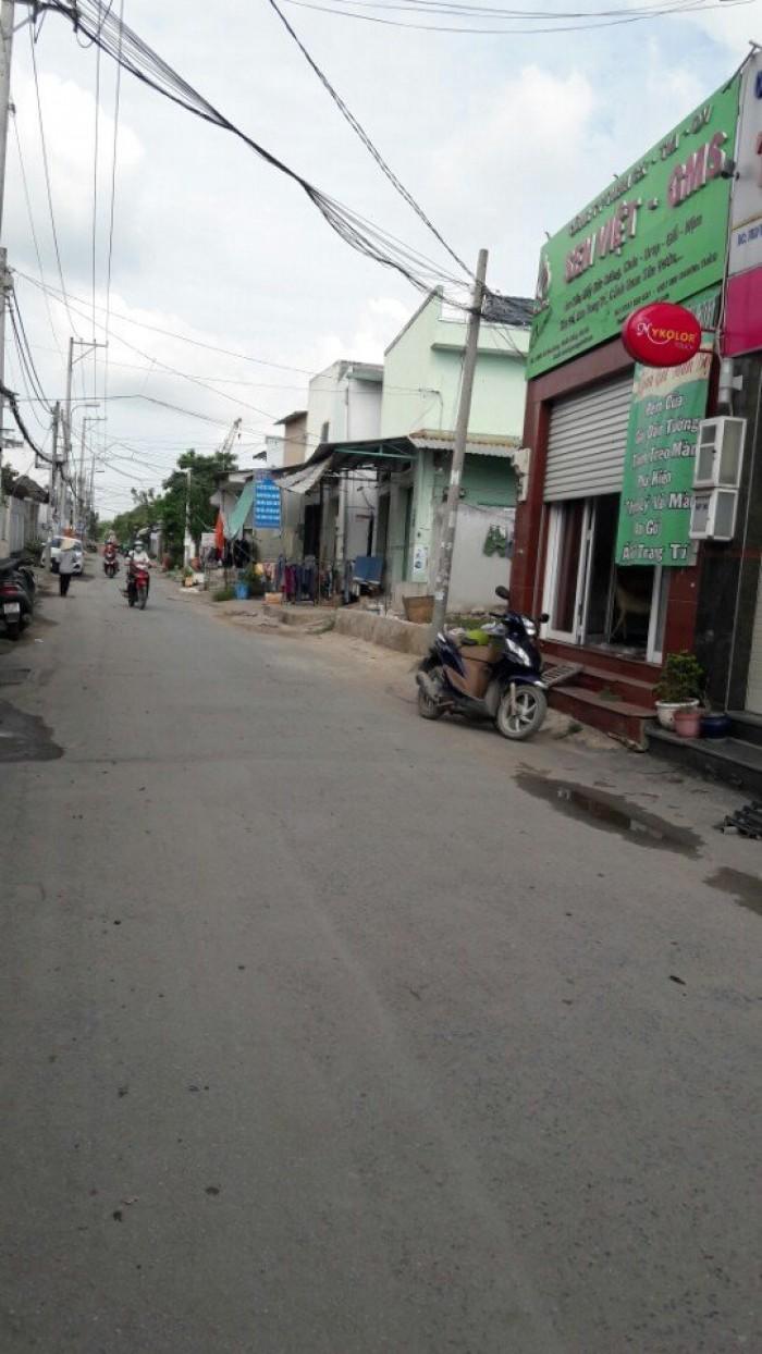 Đất mặt tiền hẻm 18  giá 25tr/m2. Dt 170.5 m2 tại Lê Văn Lương, Phước Kiển, Nhà Bè