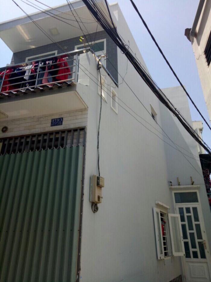 Bán nhà Trần Xuân Soạn quận 7, DT 4x12,5m, 1 trệt 1 lầu, giá 2.55 tỷ