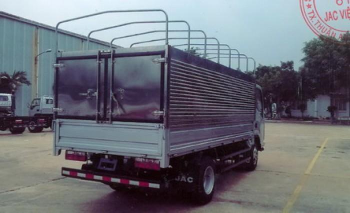 Xe tải isuzu 1.9 tấn thùng dài 4.5m đã có thùng và hồ sơ xe 1