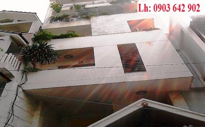 Bán tòa nhà 7 tầng góc 2 MT đường Cách Mạng Tháng Tám, P6, Q. 3, 4.5x20m, gần Nguyễn Thị Minh Khai