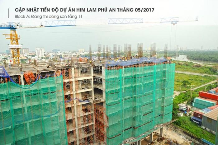 Căn hộ cao cấp cạnh cầu Rạch Chiếc. CĐT Him Lam hỗ trợ 100% lãi suất