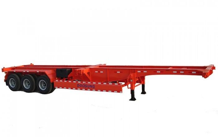 Bán Rơ Mooc  xương 3 trục 40 Feet  33.5 tấn