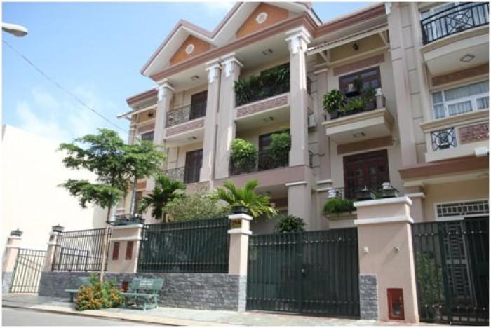 Biệt thự phố DT 8x17.6m, đường Nguyễn Thị Sáu, phường Thạnh Lộc Q12