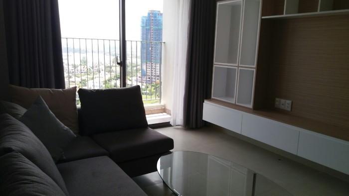 Căn hộ Masteri Thảo Điền Q2 cho thuê. Căn 2 phòng ngủ, view sông, tầng cao, full nội thất, giá rẻ