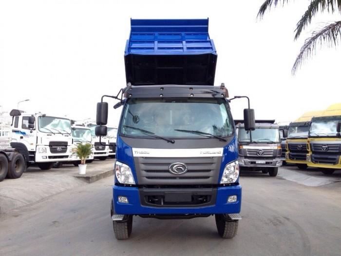 Bán xe ben Thaco Forland FLD9500, 2017 màu xanh, giao xe ngay