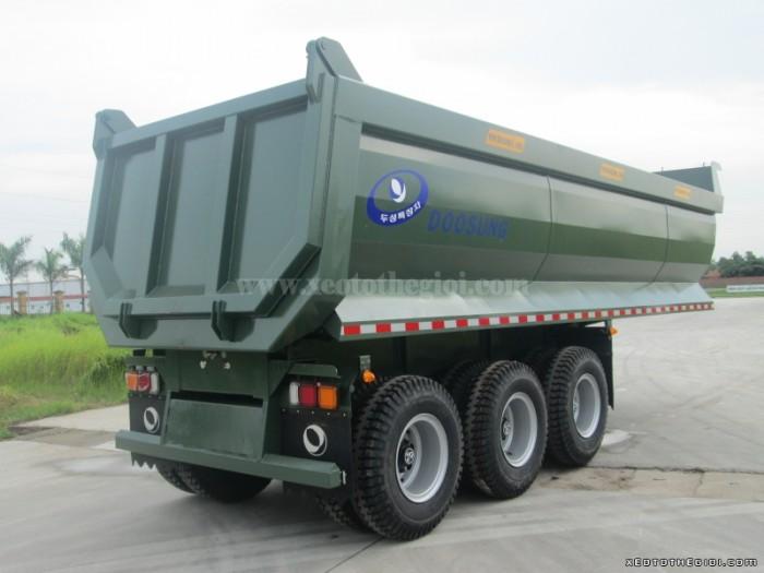 Bán xe Rơ Mooc Ben Doosung 2017-28 tấn trả góp lãi suất thấp