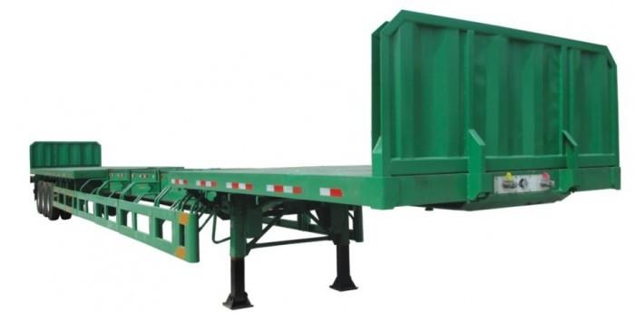 Bán Sơ mi rơ mooc tải chở thép thanh xuất xứ Hàn Quốc, giá thương lượng