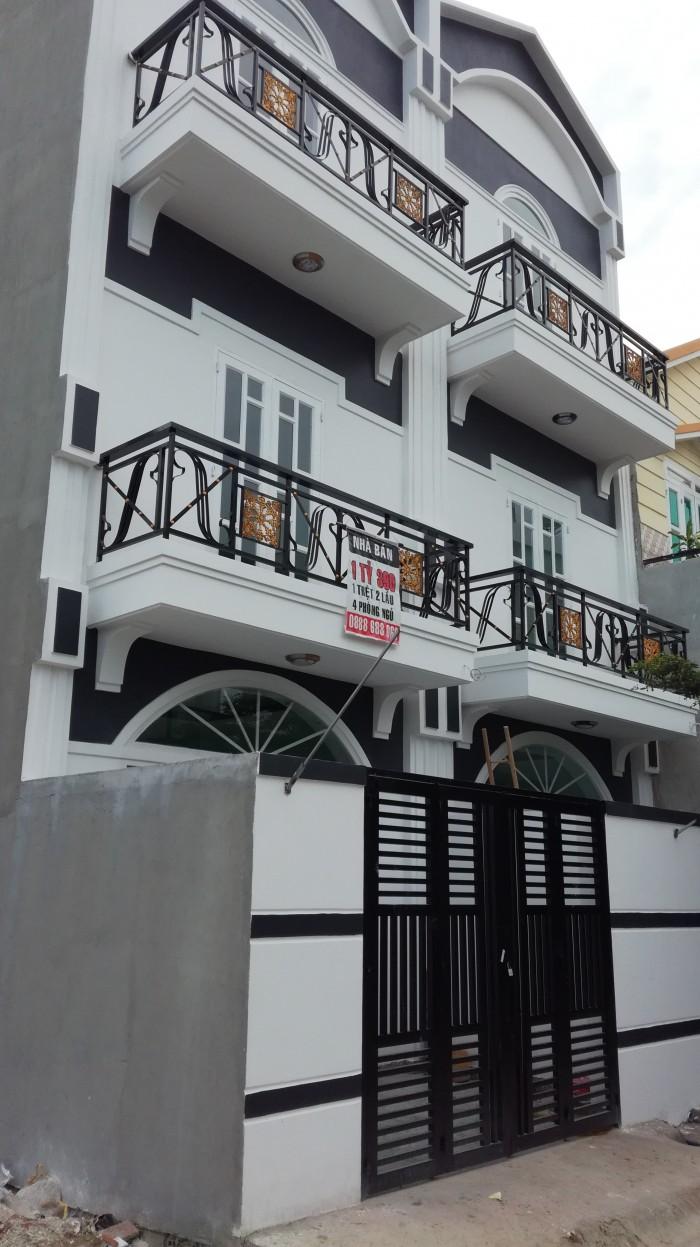 Bán nhà 3 tầng đường 6m Nguyễn Văn Tạo, Nhà Bè
