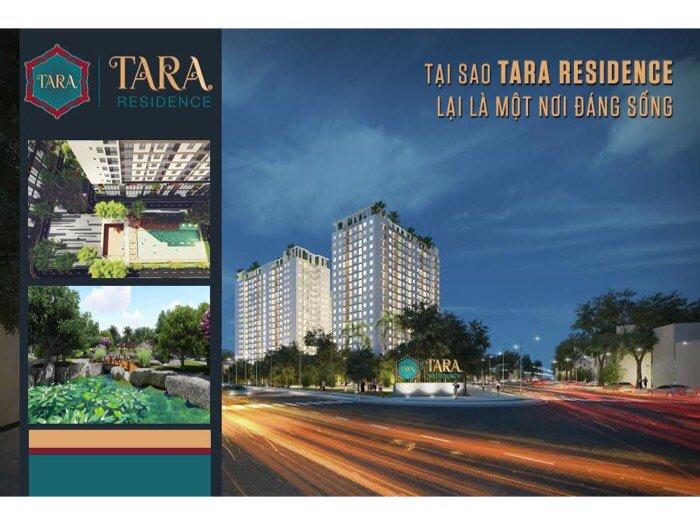 Căn hộ Tara Resiceden Mặt tiền Tạ Quang Bửu- 899tr- Full nội thất