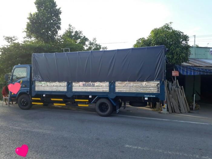 Xe tải vt340s 3t5 thùng kín 6m giá uu đãi 0