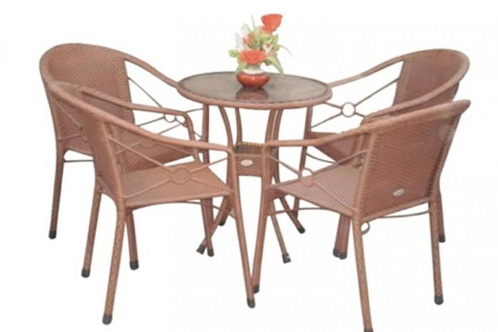 Chuyên sản xuất bàn ghế cafe ô dù giá rẻ3