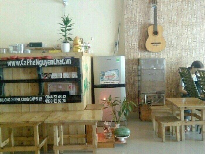 Sang gấp quán cafe phong cách milano 50m