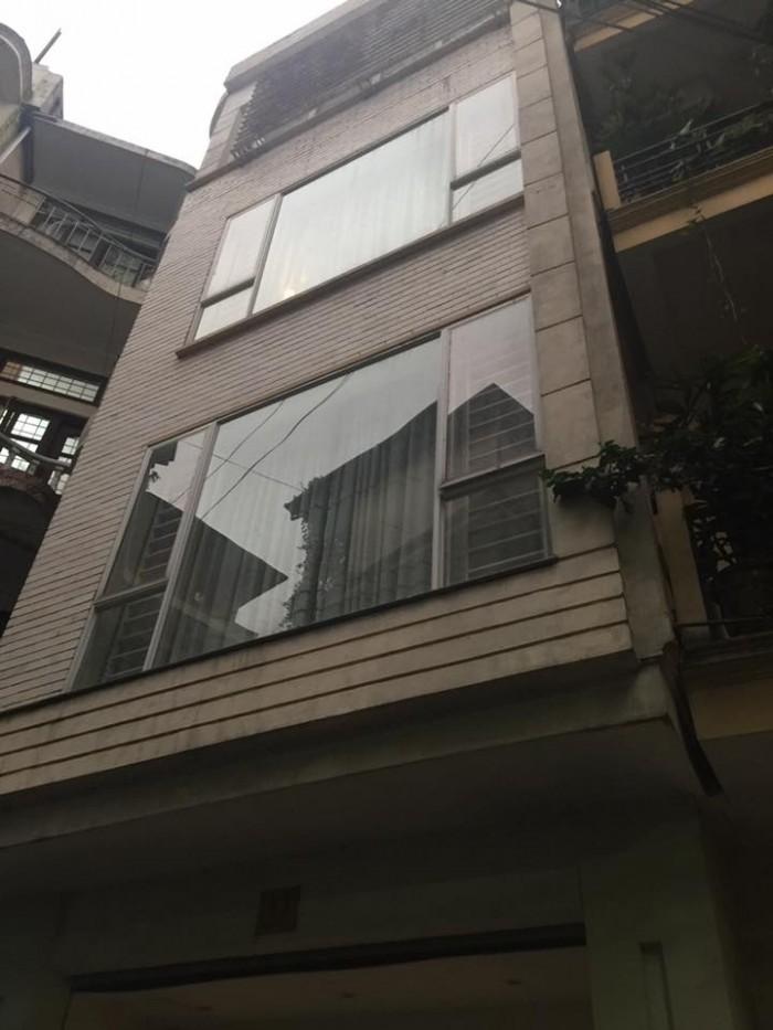 Nhà mặt ngõ cực đẹp Lê Trọng Tấn 25m 5 tầng ô tô cạnh nhà