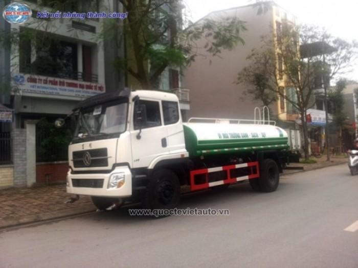 Xe Phun Nước Rửa Đường   Dongfeng 9 khối. nhập khẩu nguyên chiếc 2017.