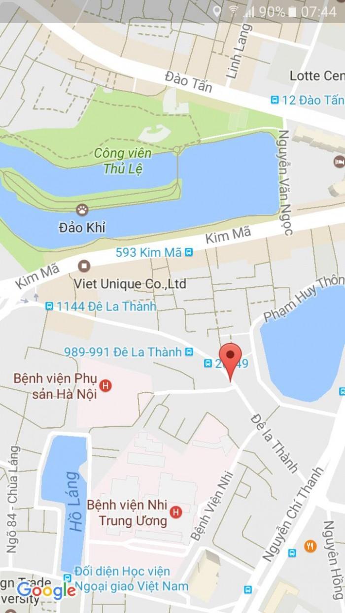 Bán nhà phố làm nhà nghỉ khách sạn 90.2m2 sổ đỏ chính chủ giá 16,5 tỷ tại kim mã