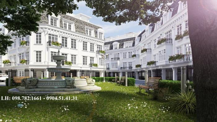 Nhà phố 58 Trúc Khê – Porte De Ville -  Kiến trúc tân cổ điển Pháp