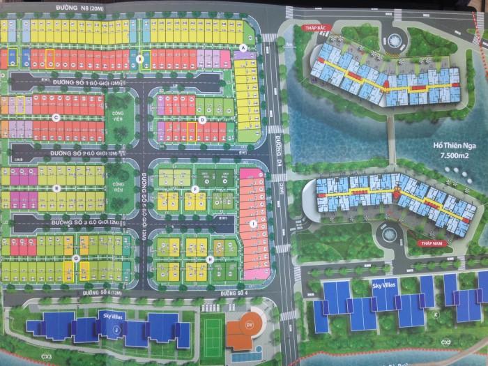 Bán đất nền Jamona City, Q7 - DT 98,6m2 (5,8x17) giá 3,75 tỷ. Xây dựng ở ngay, đối diện sông