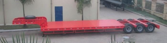 Bán Rơ Mooc lùn DS-LBKS-330HDL-1 tải trọng 38.2 tấn dài 16m, nhập khẩu