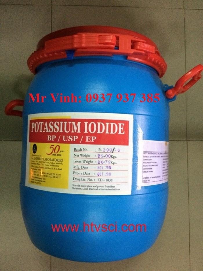Bán KI -bán kali iot - bán kali iod - bán potassium iodide - Ấn Độ - chile