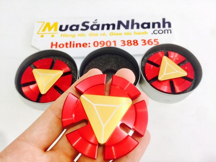Spinner Iron Man Vòng Bi Cao Cấp, Con Quay Spinner Iron Man, Fidget Spinner, Hand Spinner - MSN388148