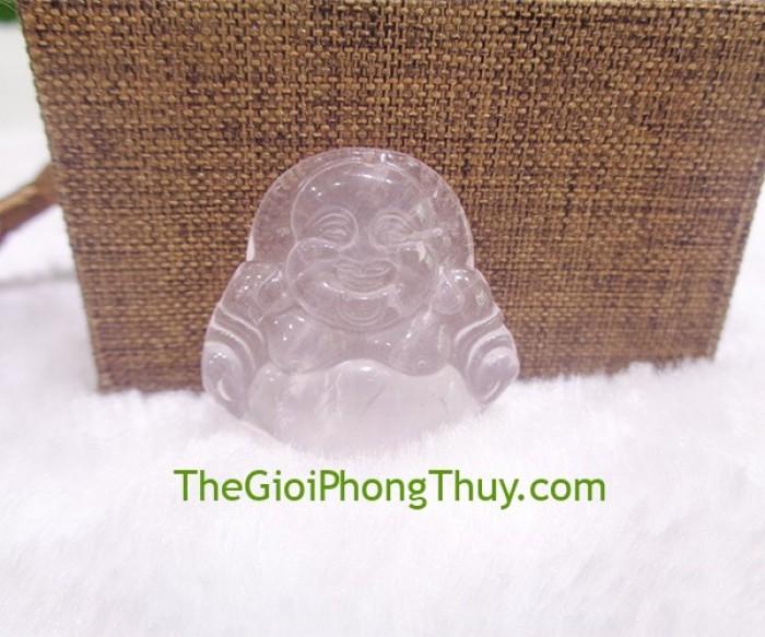 Phật di lạc thạch anh hồng nhỏ- FS64921
