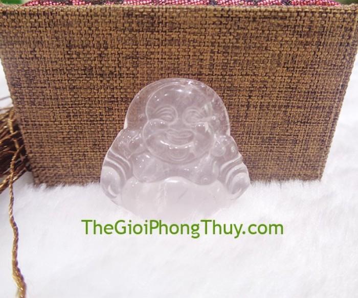 Phật di lạc thạch anh hồng nhỏ- FS64922