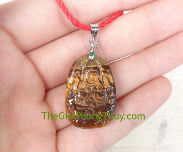 Phật bản mệnh đá mắt mèo nhỏ – Thiên Thủ Thiên Nhãn (Tý) FS6484-11