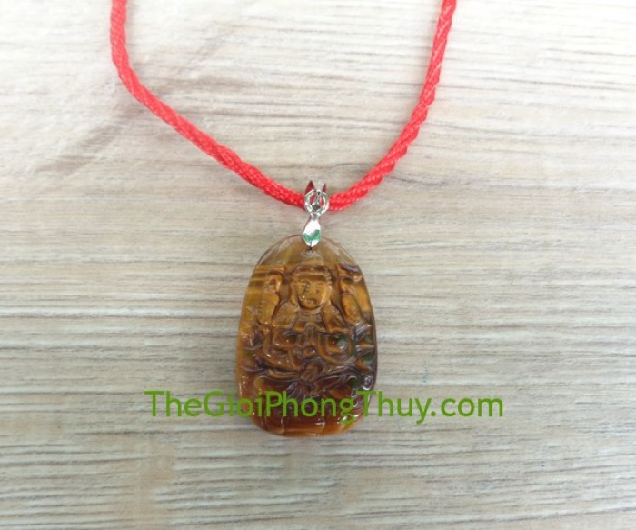Phật bản mệnh đá mắt mèo nhỏ – Thiên Thủ Thiên Nhãn (Tý) FS6484-10