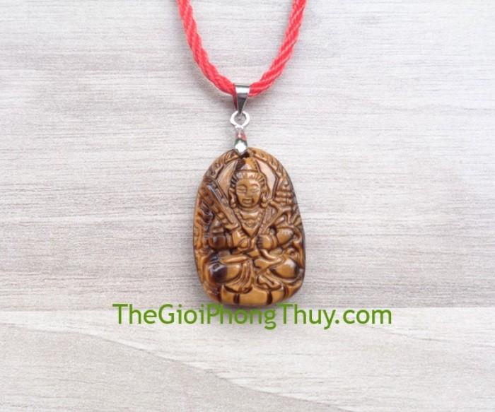 Phật bản mệnh đá mắt mèo nhỏ – Hư Không Tạng (Sưủ + Dần) FS6484-22