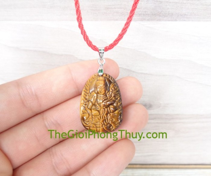Phật bản mệnh đá mắt mèo nhỏ-Phổ Hiền Bồ Tát (Thìn+Tỵ) FS6484-40