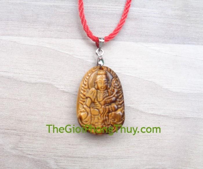 Phật bản mệnh đá mắt mèo nhỏ-Phổ Hiền Bồ Tát (Thìn+Tỵ) FS6484-42