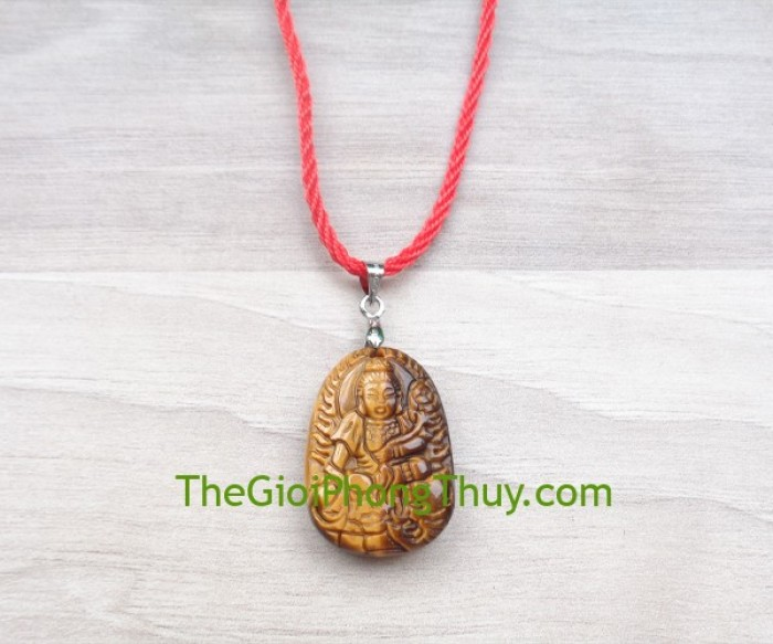 Phật bản mệnh đá mắt mèo nhỏ-Phổ Hiền Bồ Tát (Thìn+Tỵ) FS6484-43
