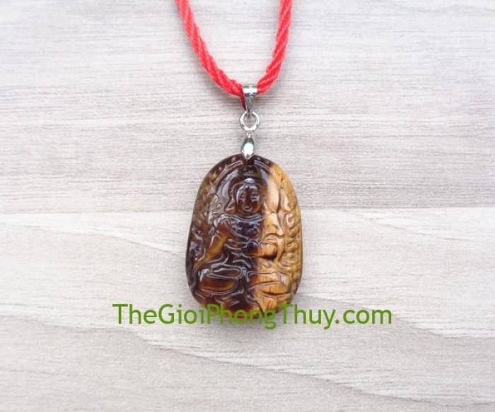 Phật bản mệnh đá mắt mèo nhỏ-Đại Thế Chí Bồ Tát (Ngọ) FS6484-50