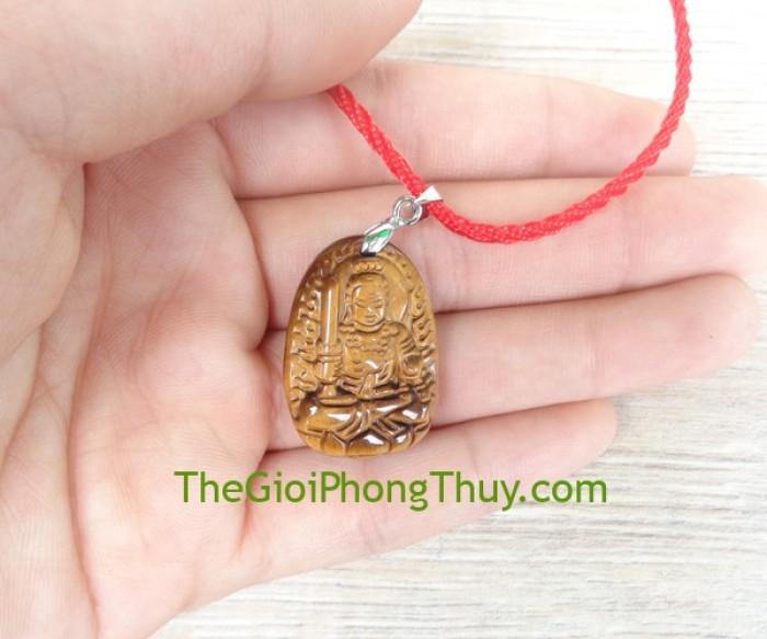 Phật bản mệnh đá mắt mèo nhỏ-Bất Động Minh Vương (Dậu) FS6484-72