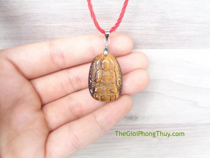 Phật bản mệnh đá mắt mèo nhỏ-Phật A Di Đà (Tuất + Hợi) FS6484-80