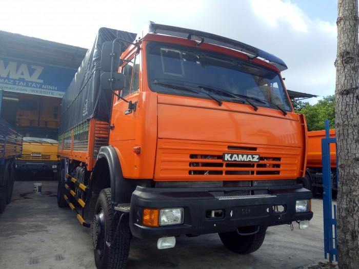 Xe tải thùng kamaz (4x4) hai chân hai cầu. 0