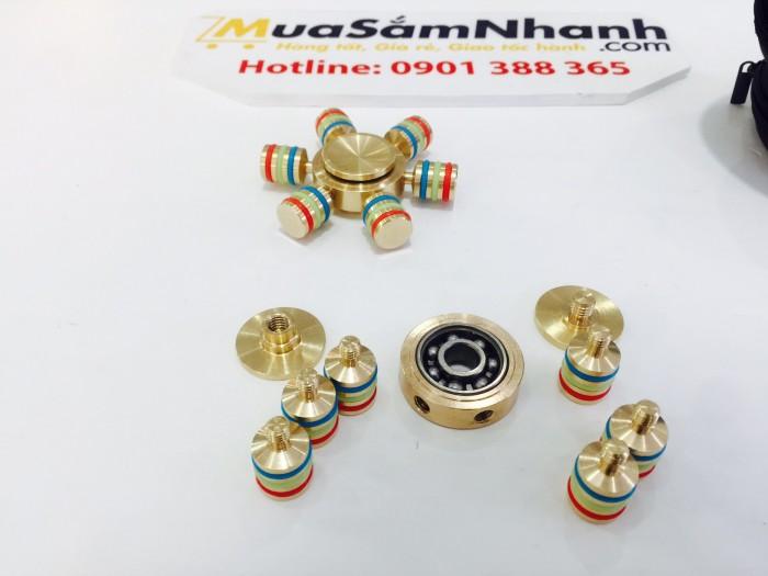 Con quay Spinner cánh tàu 6 cánh Kim Loại Cực Đẹp, Fidget Spinner, Hand Spinner - MSN388165