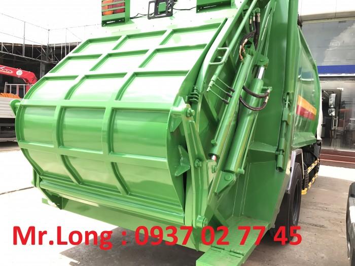 Xe tải HINO chở rác 13 m3  , xe HINO chở rác 8 tấn , xe HINO FG chở rác thải , xe ép rác 13 khối , HINO chuyên dùng chở ép rác , xe HINO 8 tấn cuốn ép chở rác 3