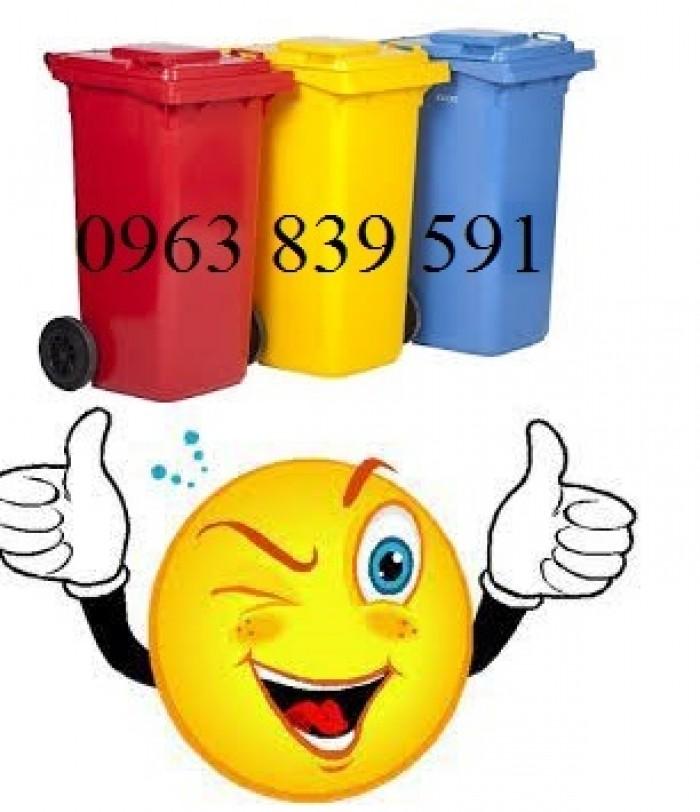 Thùng rác nhựa composite nguyên sinh chất lượng tốt0