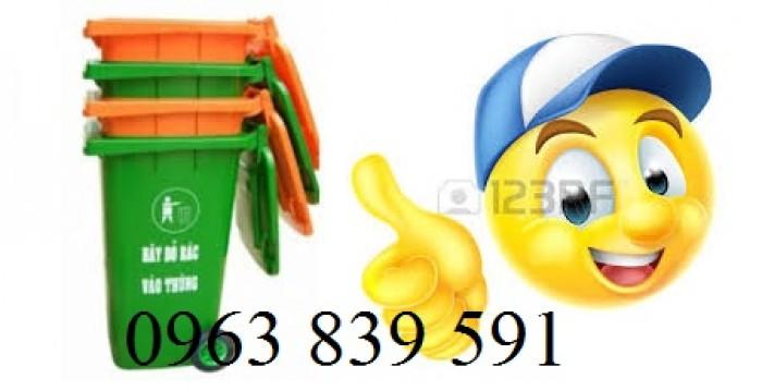 Thùng rác nhựa composite nguyên sinh chất lượng tốt1